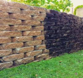Post Construction Brick Cleaning